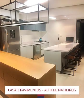 Ampliação e reforma casa 3 pavimentos em Alto de Pinheiros 2