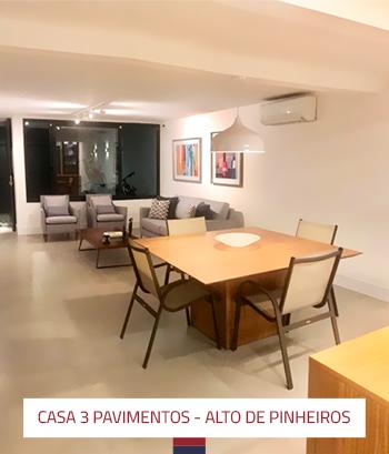 Ampliação e reforma casa 3 pavimentos em Alto de Pinheiros 3