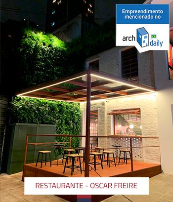 Construção de Restaurante na Rua Oscar Freire