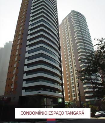 Manutenção e revitalização de fachada Condomínio Espaço Tangará