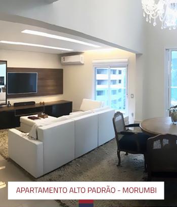 Reforma Apartamento Alto Padrão 200 m2 Morumbi
