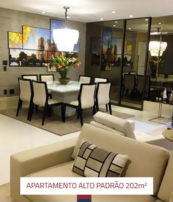 Reforma Apartamento Alto Padrão 202 m2