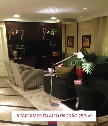 Reforma Apartamento Alto Padrão 250 m2 2