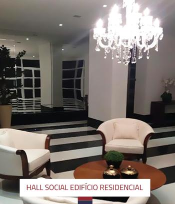 Reforma Hall Social Edifício Residencial