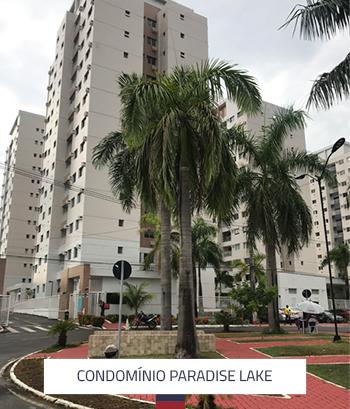 Condomínio Paradise Lake 3 Torres 156 Apartamentos