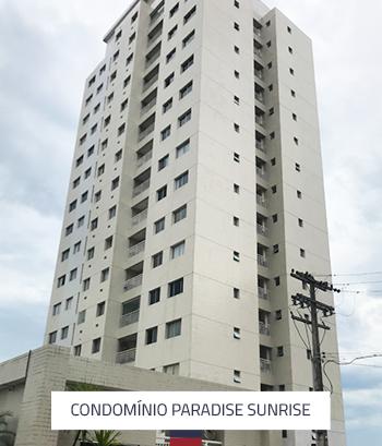 Condomínio Paradise Sunrise 3 Torres 204 Apartamentos