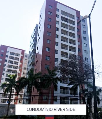Condomínio River Side 6 Torres 312 Apartamentos