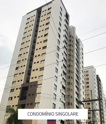 Condomínio Singolare 3 Torres 216 Apartamentos