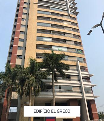 Edifício El Greco 52 Apartamentos